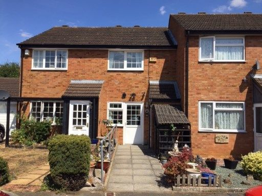 Thumbnail 2 bed terraced house for sale in Derwent Rise, Flitwick, Beds, Bedfordshire