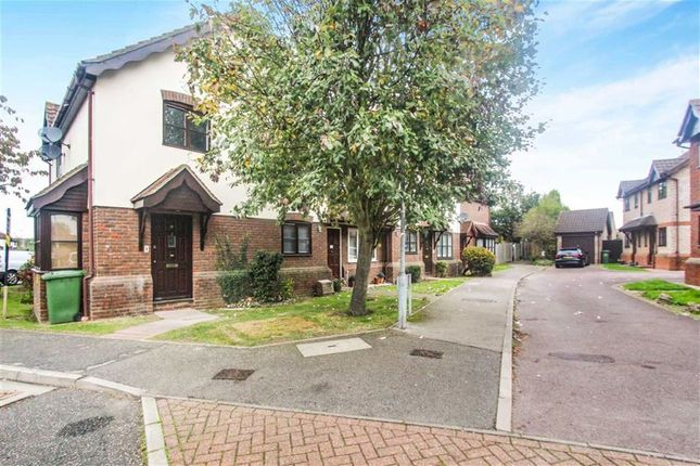 Thumbnail End terrace house for sale in Sinclair Walk, Wickford, Essex