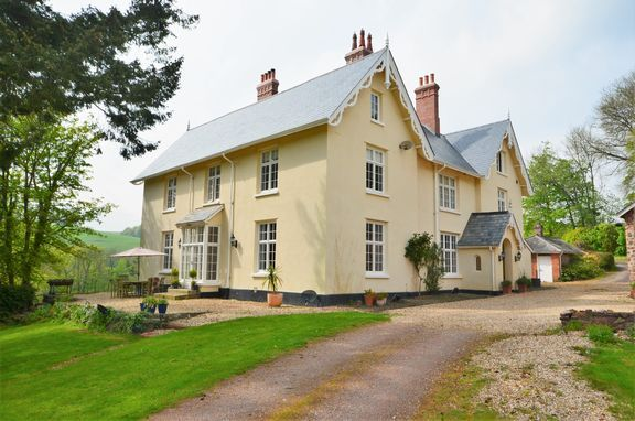 Thumbnail Detached house for sale in An Elegant Victorian Country House, Near Tiverton, In The Exe Valley.