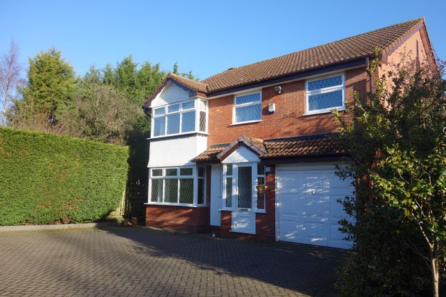 Thumbnail Detached house to rent in Wollescote Drive, Solihull