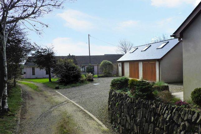 Thumbnail Detached bungalow for sale in Trefgarn-Owen, Haverfordwest