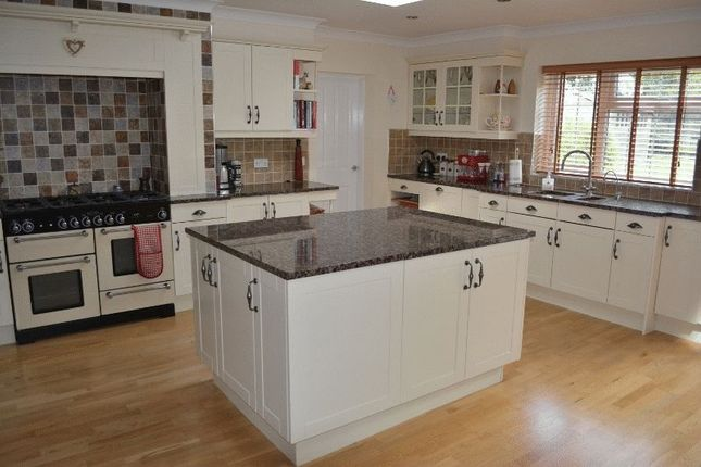 Thumbnail Detached house for sale in Green Trees, Burton Road, Thealby, Scunthorpe