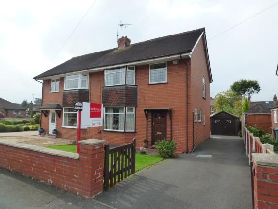 Thumbnail Semi-detached house for sale in Lime Grove, Alsager, Cheshire
