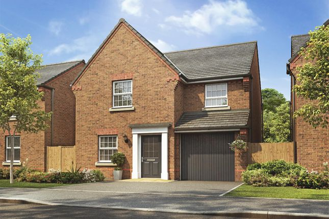 "Thumbnail Detached house for sale in ""Abbeydale"" at Hanzard Drive, Wynyard Business Park, Wynyard, Billingham"