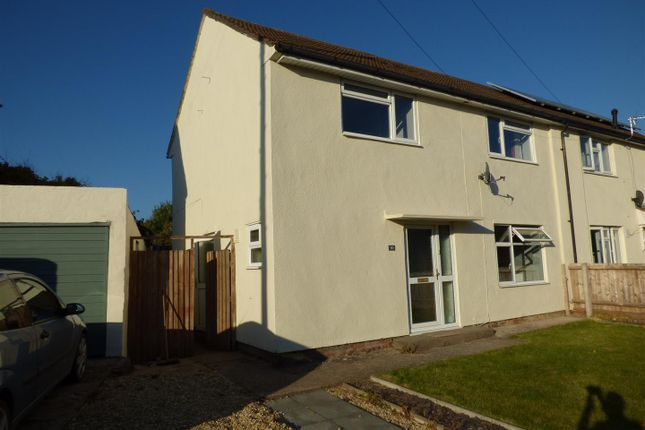 Thumbnail Semi-detached house to rent in Channel View, Bulwark, Chepstow