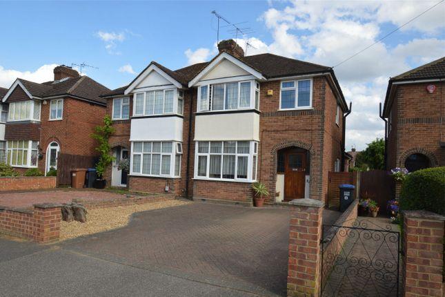 Thumbnail Semi-detached house for sale in Heathcote Avenue, Hatfield, Hertfordshire