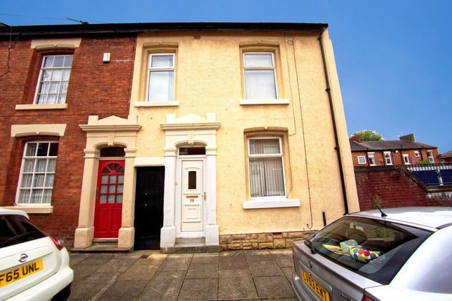 Thumbnail End terrace house for sale in Elmsley Street, Preston