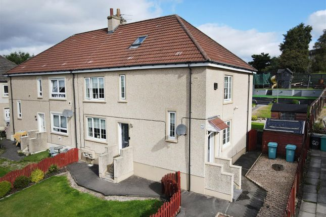 Thumbnail Flat for sale in Woodside Drive, Calderbank, Airdrie