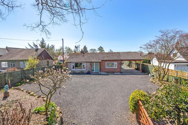 Thumbnail Detached bungalow for sale in West Felton, Oswestry