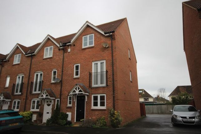 Thumbnail Terraced house to rent in Paulls Close, Martock