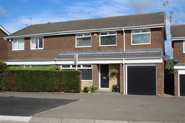 Thumbnail Semi-detached house for sale in Newlyn Drive, Parkisde Dale, Cramlington