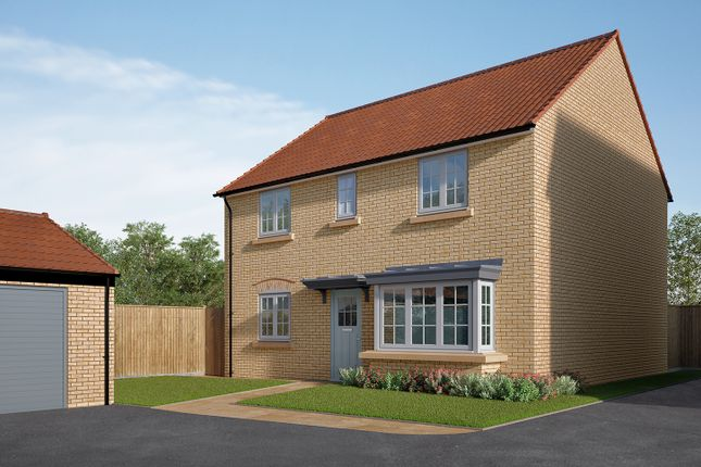 "Thumbnail Detached house for sale in ""The Pembroke"" at Isemill Road, Burton Latimer, Kettering"