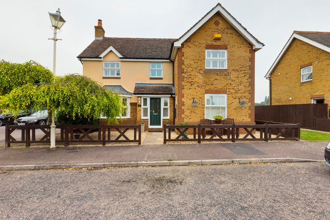 Thumbnail Detached house for sale in Swan Close, Watermead, Aylesbury