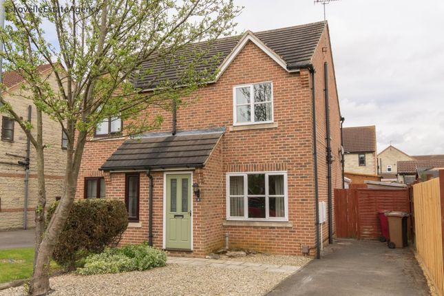 Thumbnail Semi-detached house to rent in Ivy House Court, Scunthorpe