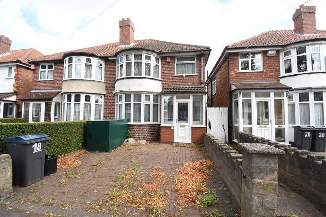 Semi-detached house for sale in Patrick Road, Yardley, Birmingham