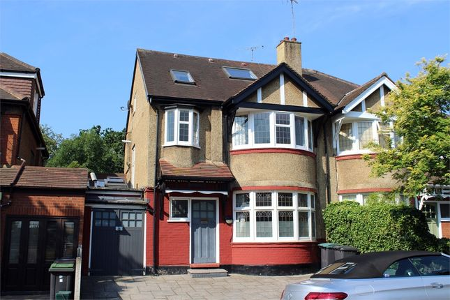 Thumbnail Semi-detached house for sale in Rhodes Avenue, Muswell Hill Borders, London