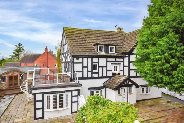 Thumbnail Detached house for sale in Wheaton Aston, Stafford, Staffordshire