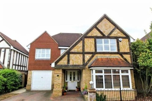 Thumbnail Detached house for sale in Queen Annes Place, Enfield