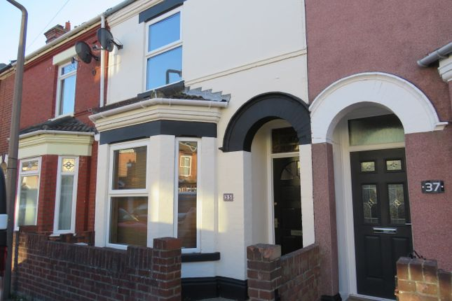 Thumbnail Terraced house to rent in Beresford Road, Lowestoft