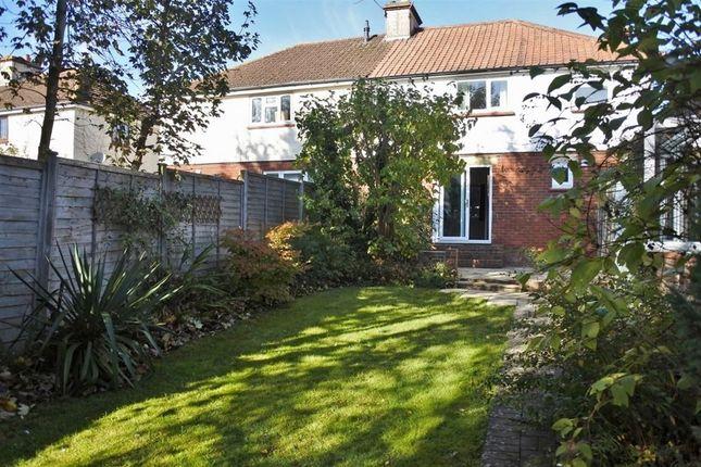 Thumbnail Semi-detached house to rent in Merton Road, Basingstoke