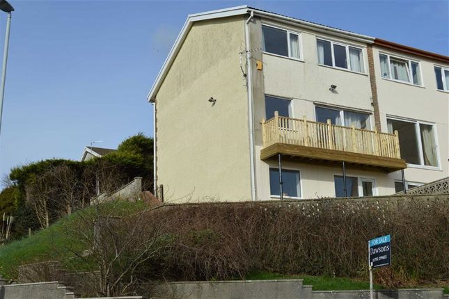 Thumbnail Semi-detached house for sale in Brynmead Close, Swansea