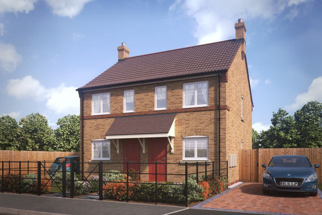 Thumbnail Semi-detached house for sale in Kings Manor, Hoplands Road, Coningsby, Lincolnshire