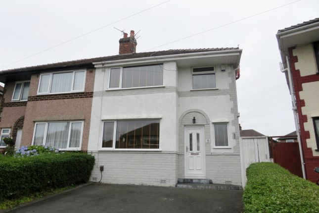 Thumbnail Semi-detached house to rent in Northways, Bromborough, Wirral, Merseyside