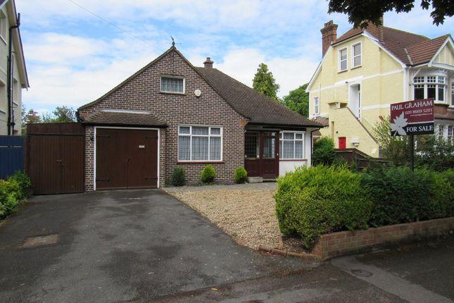 Thumbnail Detached bungalow for sale in Holmwood Gardens, Wallington