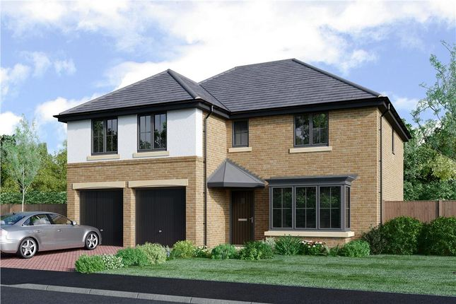"Thumbnail Detached house for sale in ""The Jura"" at Coach Lane, Hazlerigg, Newcastle Upon Tyne"