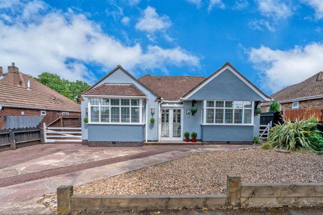 Thumbnail Detached bungalow for sale in Greenmoor Road, Burbage, Hinckley