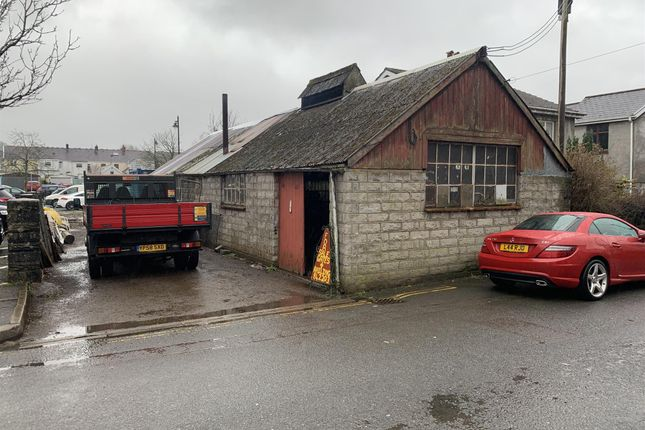 Thumbnail Commercial property for sale in Heol Maes Y Dre, Ystradgynlais, Swansea