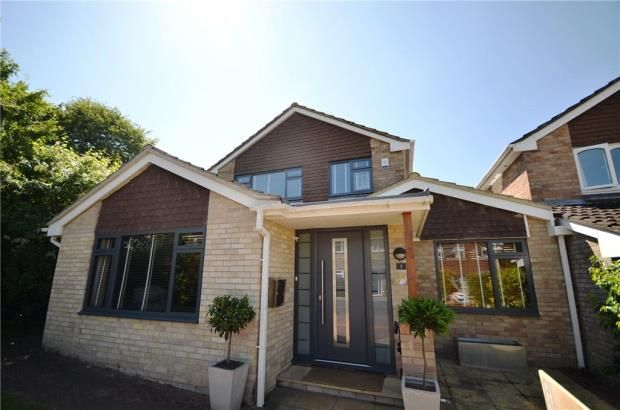 Thumbnail Detached house for sale in Chaffinch Close, Basingstoke, Hampshire