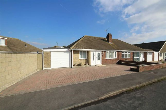 Thumbnail Semi-detached bungalow for sale in Blake Crescent, Swindon, Wiltshire