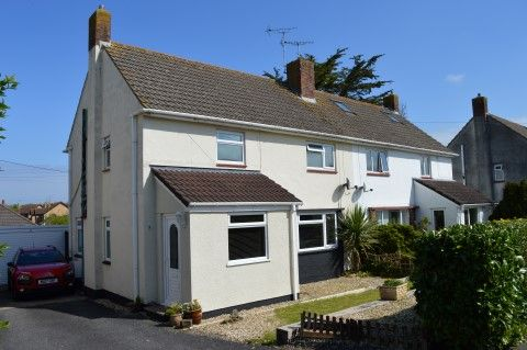 Thumbnail Semi-detached house for sale in Grenville Avenue, Locking, Weston-Super-Mare