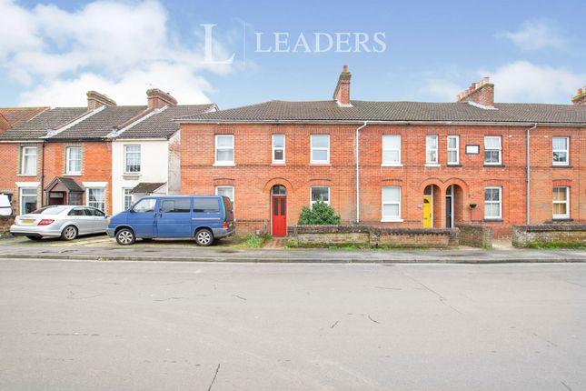 Thumbnail Terraced house to rent in Gordon Road, Fareham