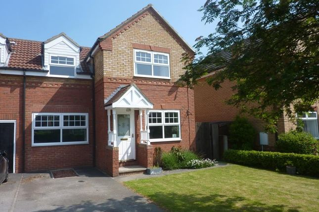 Thumbnail Semi-detached house to rent in Iddison Drive, Bedale
