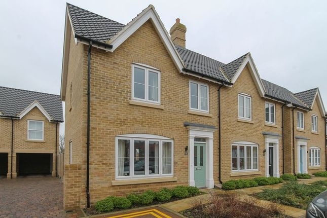 Thumbnail Semi-detached house for sale in Dorset Square, Lawford, Manningtree
