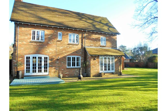 Thumbnail Detached house for sale in Badgers Walk, Ferndown