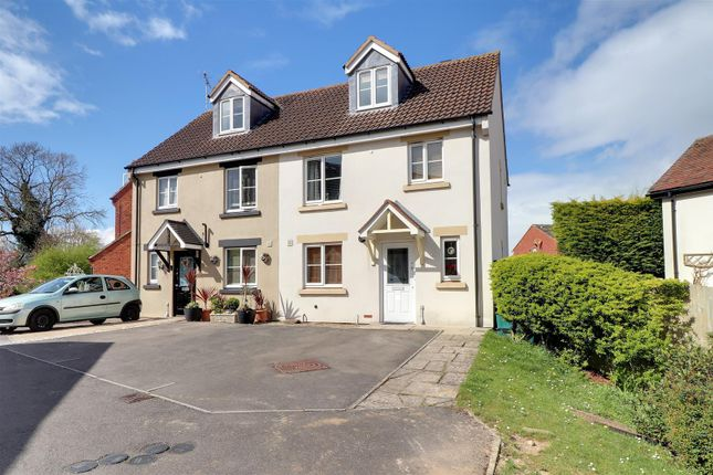 Thumbnail Semi-detached house for sale in Newland View, Cheltenham