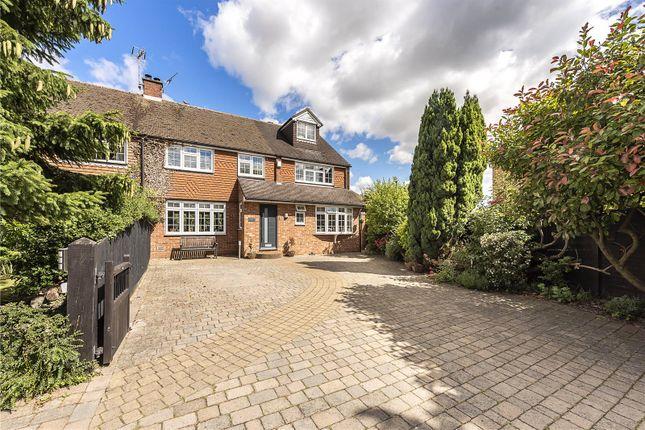 Thumbnail Semi-detached house for sale in Piggottshill Lane, Harpenden, Hertfordshire