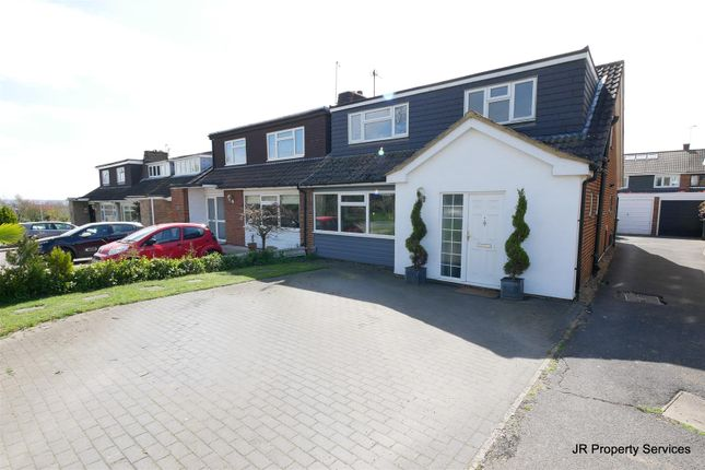 Thumbnail Semi-detached house for sale in Hilltop Close, Cheshunt, Waltham Cross