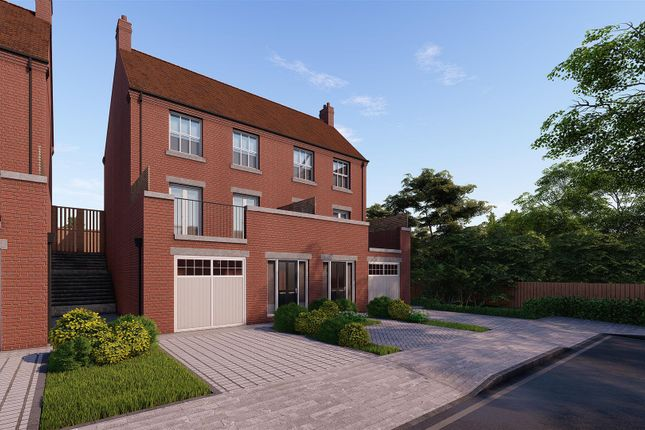 Thumbnail Semi-detached house for sale in The Sambar, The Rise, Halloughton Road, Southwell