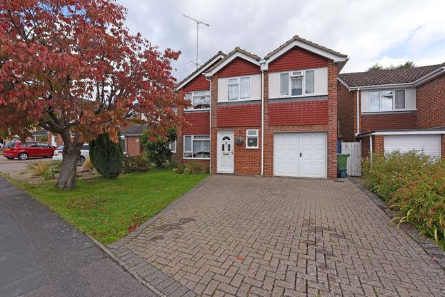 Thumbnail Detached house for sale in Hawkswood Avenue, Frimley, Camberley