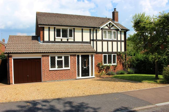 Thumbnail Detached house for sale in Edmonton Way, Oakham
