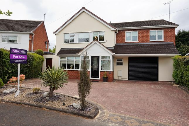 Thumbnail Detached house for sale in Lodge Crescent, Hagley