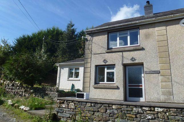 Thumbnail Property to rent in Cwrtnewydd, Llanybydder, Ceredigion
