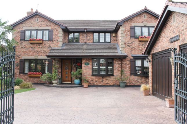 Thumbnail Detached house for sale in Webbs Lane, Middlewich