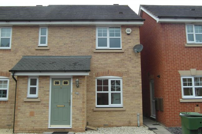 Thumbnail Semi-detached house to rent in Railway Walk, Bromsgrove
