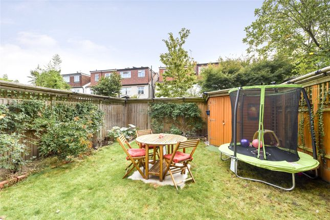 Garden of Rusthall Avenue, London W4
