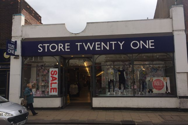 Thumbnail Retail premises to let in 17 Ropergate, Pontrfract